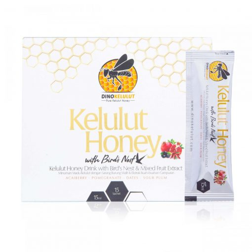 Madu Kelulut Stingless Bee Trigona Honey Bird's nest with Mixed Fruit Extract
