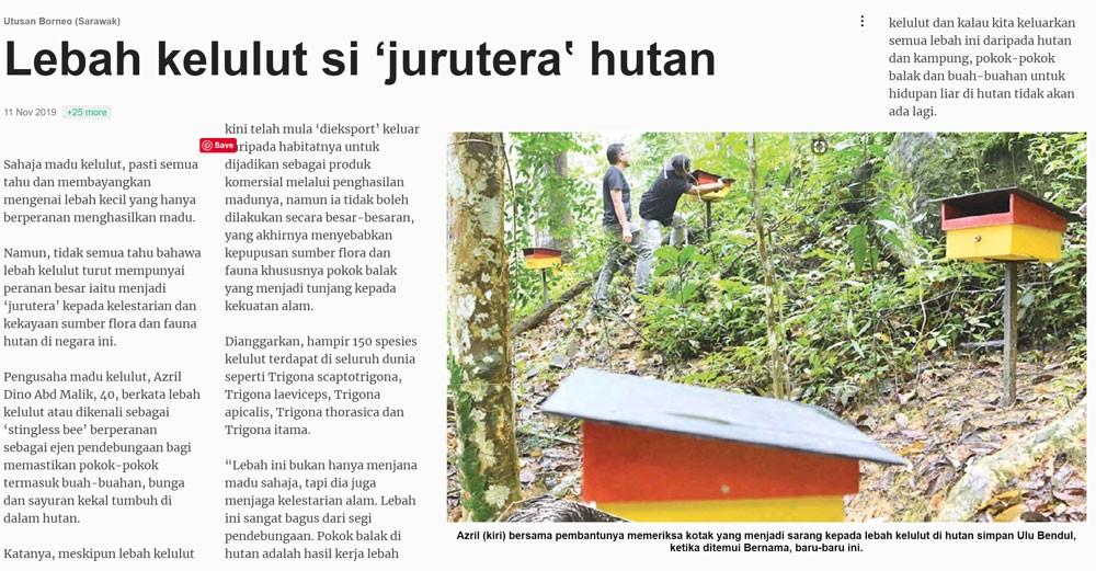 Dinokelulut - Utusan Sarawak
